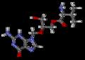 Valganciclovir ball-and-stick.png