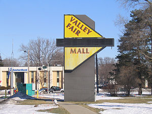 Valley Fair Shopping Center - The Valley Fair Sign