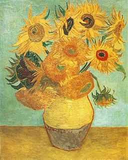 Van Gogh Twelve Sunflowers