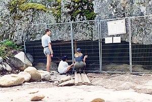 Wolf Cave - Image: Varggrottan 1998