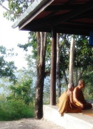 Ajahn Thate - Thai Buddhist forest monks. 2008.
