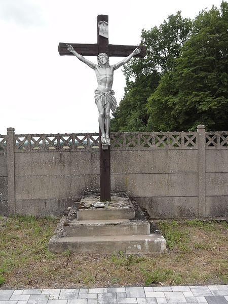 Vaucourt (M-et-M) croix de cimetière