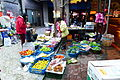 Vegetables and Fruits Seller in Sidewalk of Tayou Road 20131224.jpg