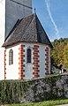 Velden Kranzlhofen Pfarrkirche hl. Johannes der Täufer Chorschluss SO-Ansicht 24102019 7360.jpg