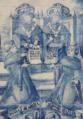 Venerável Doutor Frei Agostinho de Castro e Venerável Doutor Frei Aleixo de Menezes - Missão de África e Missão de Ásia (Convento da Graça, Lisboa).png