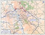 Verdun and Vincinity - Map
