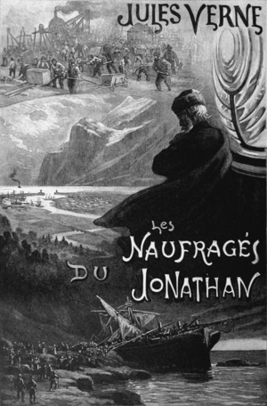 """The Survivors of the """"Jonathan"""" - A 1909 French edition published by Pierre-JulesHetzel"""