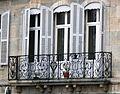 Vesoul - hôtel Pétremand - balcon ouest fenêtre.JPG