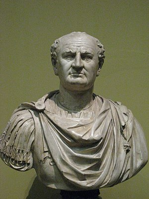 Verism - Bust of Vespasian, ca. 75-79