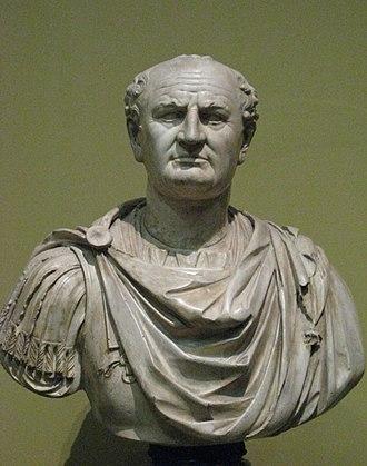 Verism - Bust of Vespasian, ca. 75-79