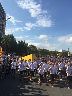 Free Way to the Catalan Republic - Avinguda Meridiana