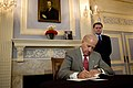 Vice President Joe Biden writing condolence message at Polish Embassy in Washington.jpg