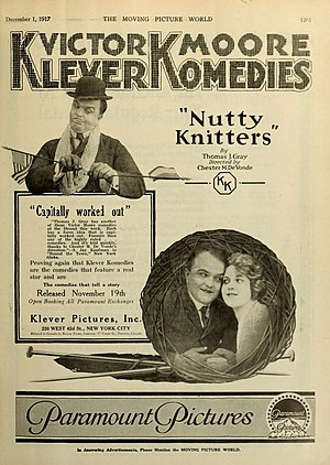 Victor Moore - Nutty Knitters (1917)