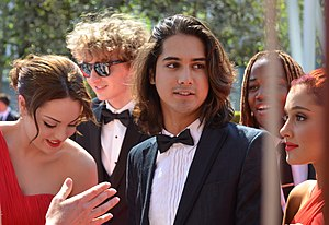 Victorious - Victorious Cast at the 64th Primetime Emmy Awards in September 2012.