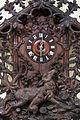 Vienna - Vintage Bavarian wooden Clock - 0557.jpg