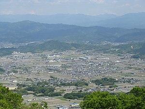 Mount Yamato Katsuragi - Image: View from Mount Yamatokatsuragi 4