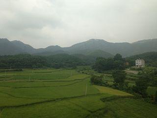 Dawu County, Hubei County in Hubei, Peoples Republic of China