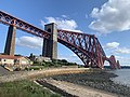 View of Forth Bridge from coast of North Queensferry.jpg