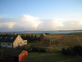 Tong, Lewis - Image: View towards Broadbay and Stornoway Airport