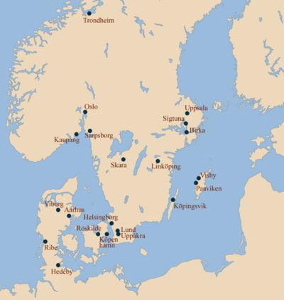 Vikingatida Stader I Norden Wikipedia