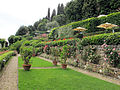 Villa san michele, giardino est 30.JPG