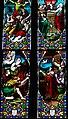 Villeréal - Église Notre-Dame - Vitrail de l'histoire de Noé -1.jpg