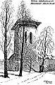 Vilnia, Bazylanski, Zvanica. Вільня, Базылянскі, Званіца (V. Foretzsch, 1918).jpg