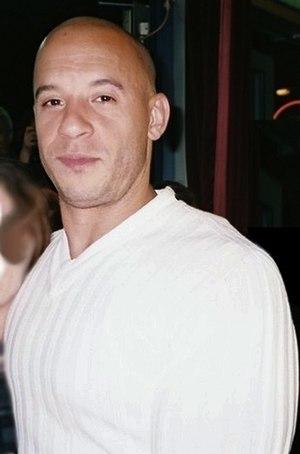 {{w|Vin Diesel}} at the 'Pacifier' premiere in...