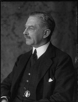 John Baird, 1st Viscount Stonehaven - Image: Viscount Stonehave