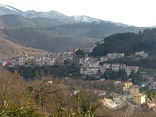 Vallerotonda Comune in Lazio, Italy