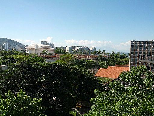 Vista da sala de reuniões do IBICT no Rio de Janeiro