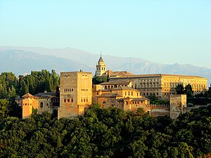 Ansicht der Alhambra