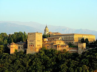 Destiny (Queen of Swords) - The Alhambra, Granada, was used to represent Madrid in 1817 in the episode's opening