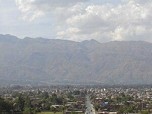 Quillacollo - Image: Vista de la ciudad de Quillacollo