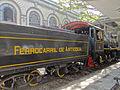 Vista interna de la Estación del Ferrocarril Medellín -Cisneros con máquina 4.JPG