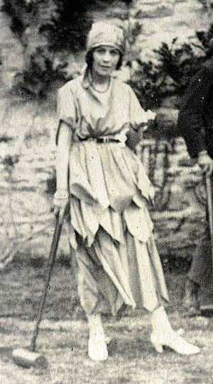 Vivienne Haigh-Wood Eliot - Haigh-Wood in 1921