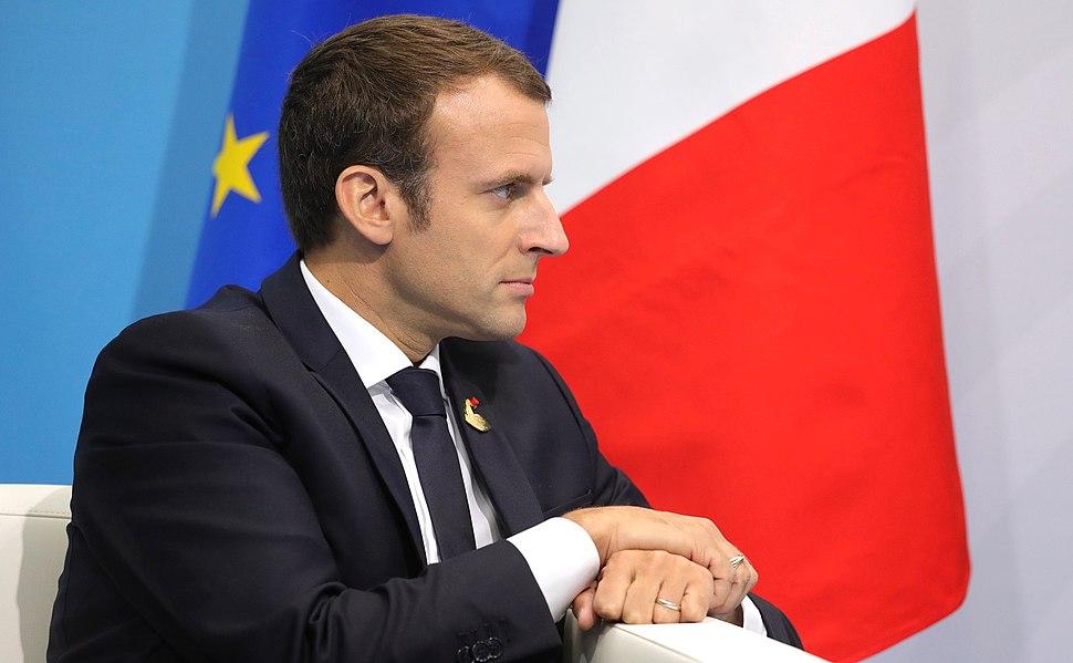 Vladimir Putin and Emmanuel Macron (2017-07-08) 04