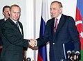 Vladimir Putin in Azerbaijan 9-10 January 2001-7.jpg