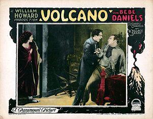 Volcano! (1926 film) - Lobby card