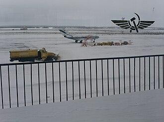 Volga-Dnepr Airlines - Volga-Dnepr Yak-40 at Ulyanovsk Baratayevka Airport