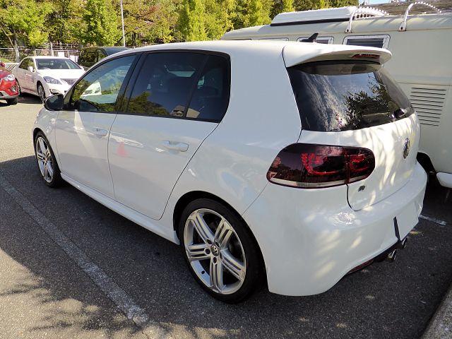 Volkswagen Golf VI R rear