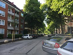 Von-Graffen-Straße in Hamburg
