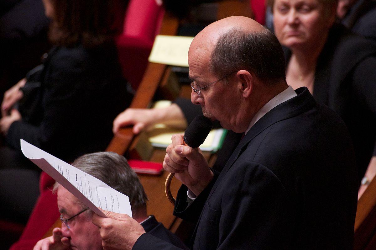 Bernard Roman au vote solennel de la Loi ouvrant le mariage aux couples de personne de même sexe