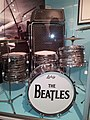 Vox Super Beatle amplifier, Beatles Ludwig drumset, Museum of Making Music (edit1).jpg