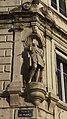 Vue 1 Statue Saint Jean Baptiste angle façade hôtel bernou de rochetaillée saint etienne.jpg