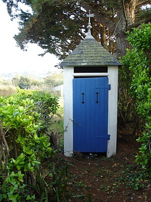 Outhouse -  An outhouse in Le Palais, Brittany
