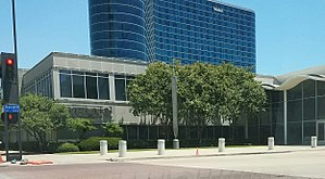 WFAA Communications Center Studios - Main studios and offices of WFAA in downtown Dallas.