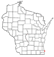 Location of Wind Point, Wisconsin