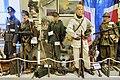 WW2 Norway. German uniforms Luftwaffe NCO communication Gebirgsjäger MP40 Norw. snow camouflage, French MG34 Colt 1929 etc Lofoten Krigsminnemuseum 2019 (enhanced white balance) 0137.jpg