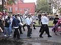 WWOZ 30th Birthday Parade Esplanade Avenue Treme Brass 2.JPG